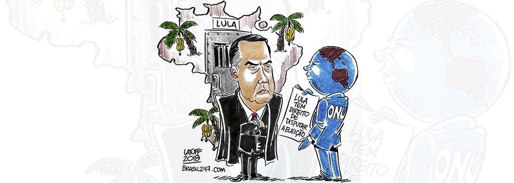Latuff: Lula tem direito de ser candidato