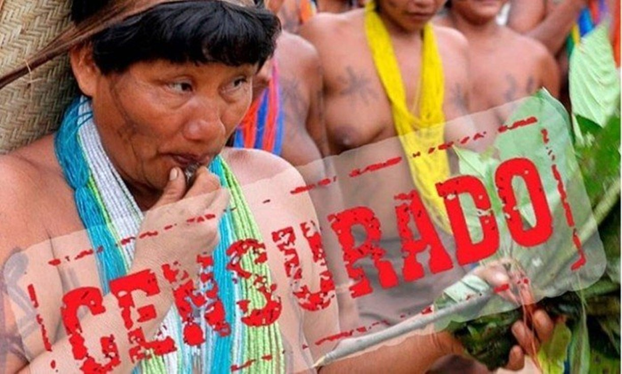 Conta da Funai no Facebook é suspensa por nudez de mulher indígena