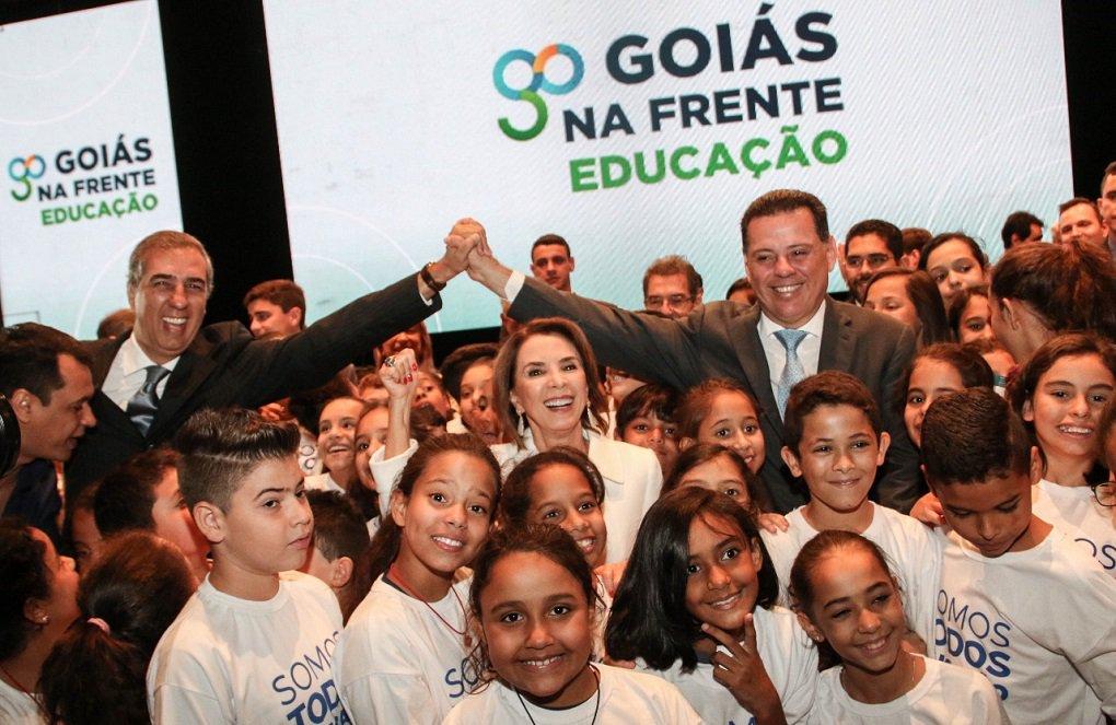 Avanços na Prova Brasil são conquista dos goianos, diz Marconi