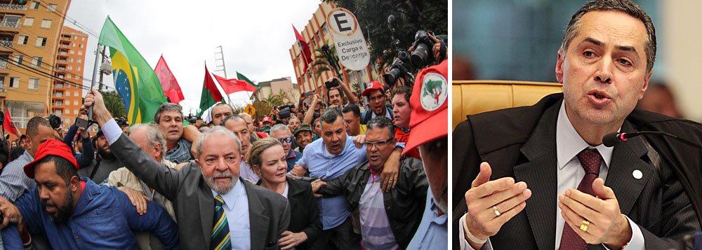 Intelectuais pedem a Barroso respeito à ONU e valores humanistas no caso Lula