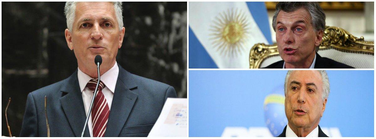 'Se seguirmos a agenda de Temer o destino é quebrar como a Argentina'