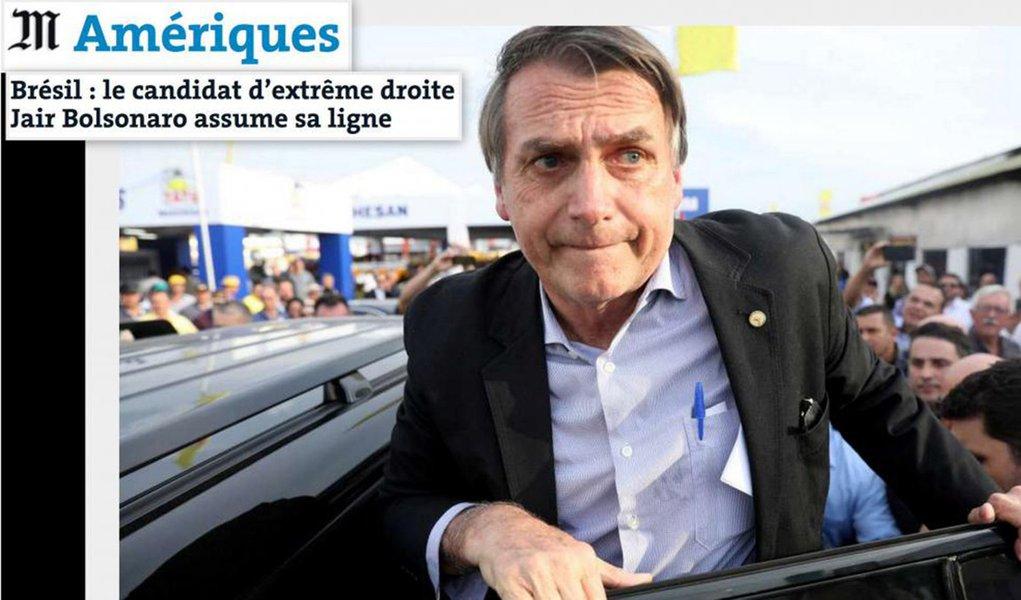 "Le Monde: ""Brasil desorientado"" pode endossar Bolsonaro"