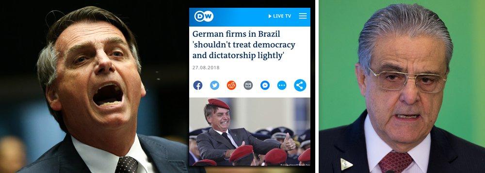 Associação alemã alerta suas multinacionais: não invistam num Brasil fascista
