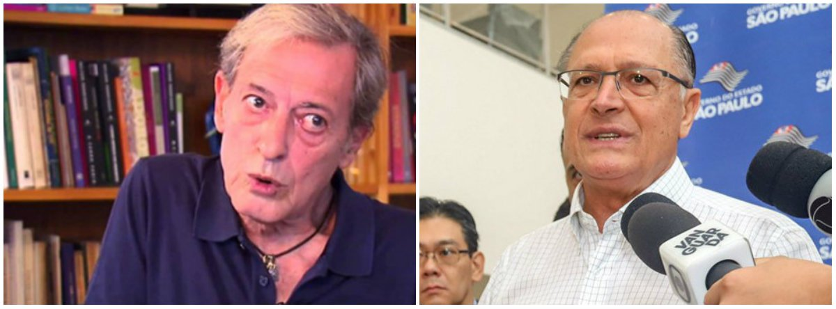 "José Simão ironiza Alckmin e fala em ""rouboanel"""