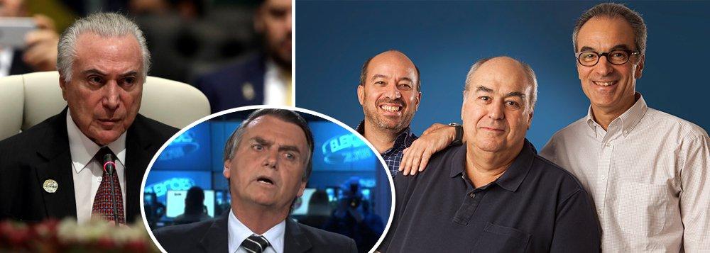 Globo mente: nega receber bilhões do governo, mas recebeu R$ 10 bi