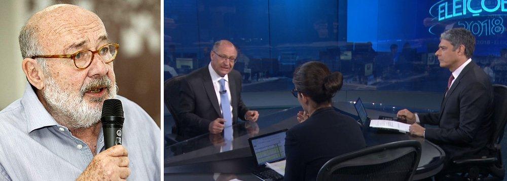 Kotscho: Alckmin é candidato à reeleição ou a presidente? Brasil não é São Paulo