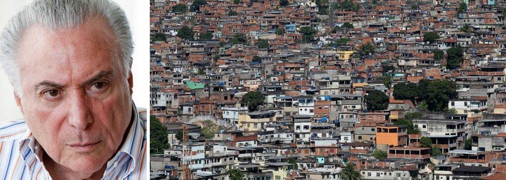 Golpe arrastou 23 milhões à miséria, tamanho igual à população do Chile