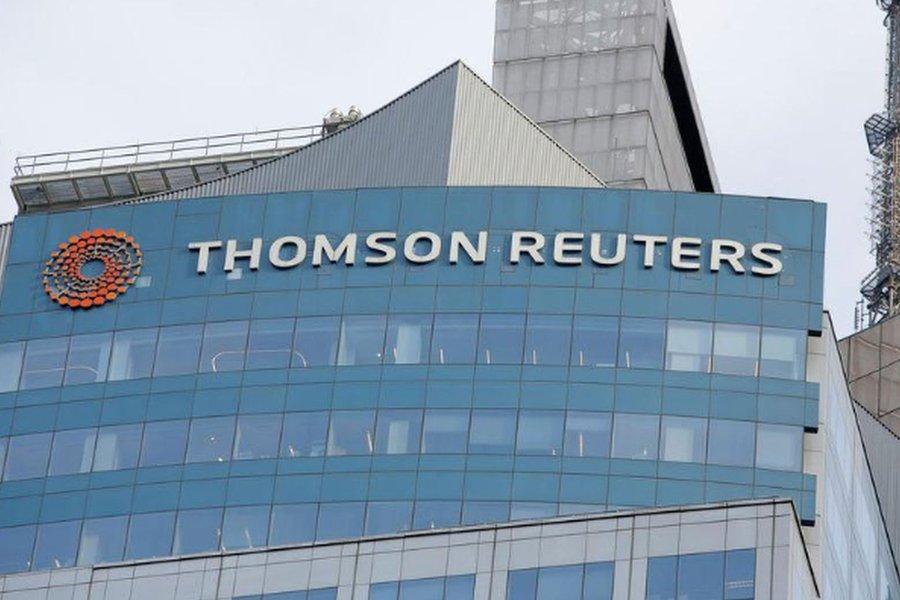 Thomson Reuters concluirá acordo com Blackstone em 1º de outubro