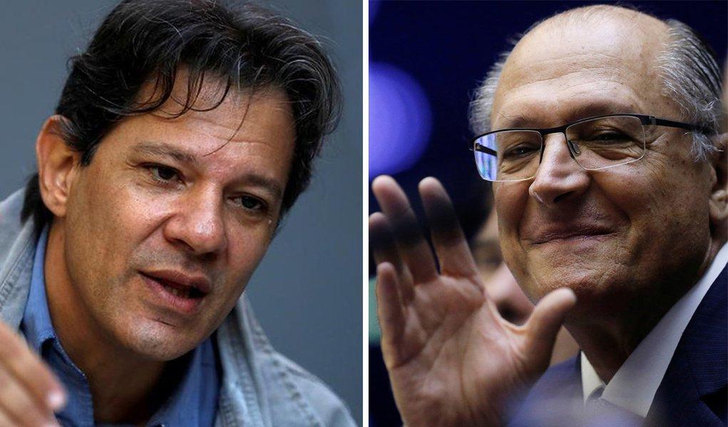 Lula, Globo e promotor golpista a difamar Haddad e favorecer o PSDB