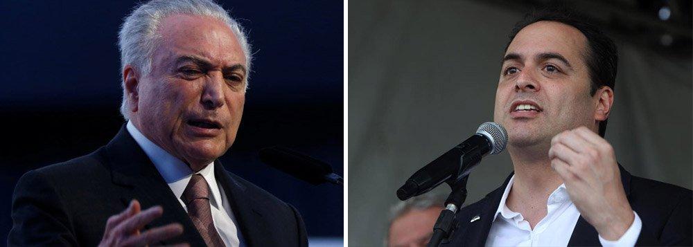 Temer rebate Paulo Câmara: ele precisa ter em quem bater