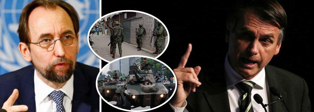 Discurso de Bolsonaro sobre direitos humanos é 'um perigo', alerta ONU