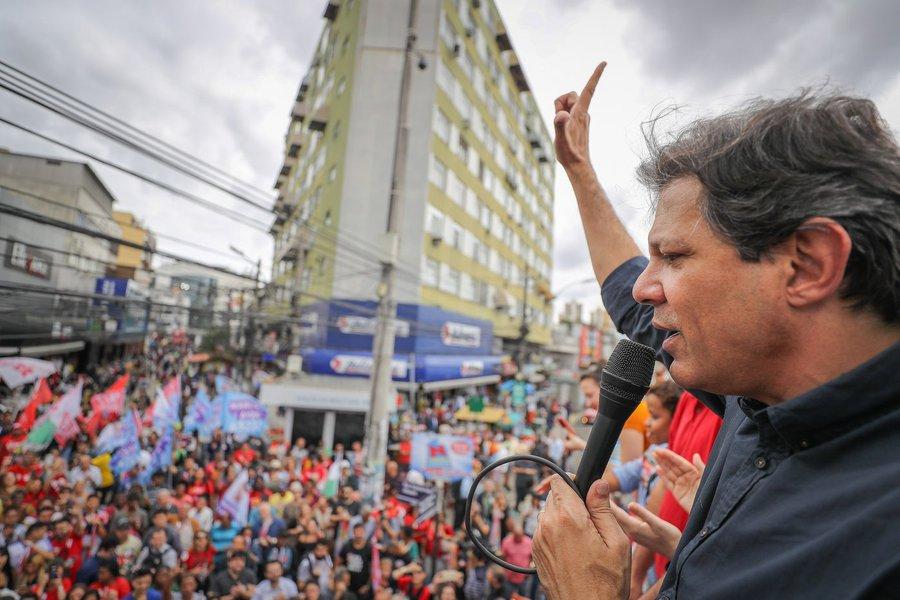 'O MP tem na mão a palavra de um bandido', diz Haddad