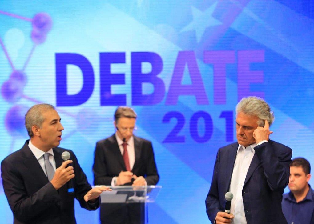 Debate TBC: atacado, Zé Eliton responde críticas e mostra propostas
