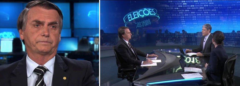 Bolsonaro faz Globo mais uma vez tentar explicar seu apoio ao golpe