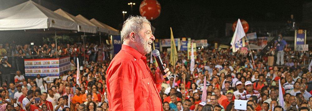 Lula já teria hoje 54 milhões de votos