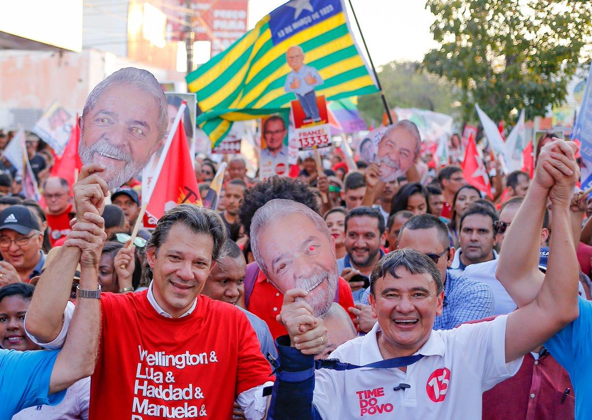 Para transferir votos de Lula a Haddad, PT aposta em campanha do 13