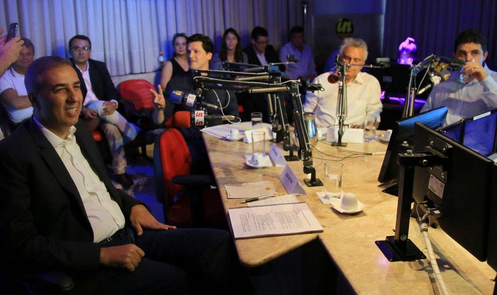 Debate Interativa: Eliton é o mais propositivo e Daniel encurrala Caiado