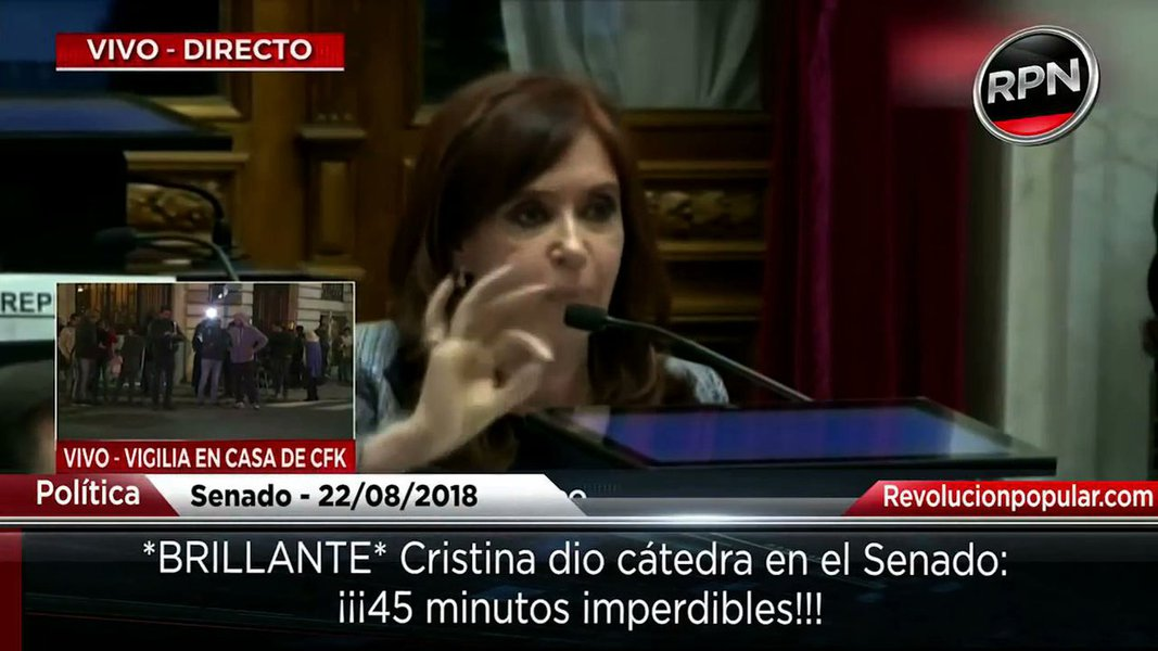 """O circo dos """"cadernos"""" abre a cortina da terrível invasão dos domicílios de Cristina Kirchner"""