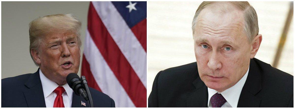 Novas sanções dos EUA contra a Rússia entram em vigor