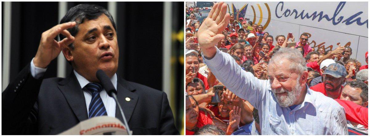 José Guimarães: a direita está tonta de tanto Lulaço pelo País
