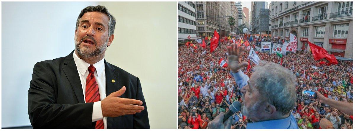 'Juízes desonestos tentam expulsar Lula do jogo, mas vão perder'