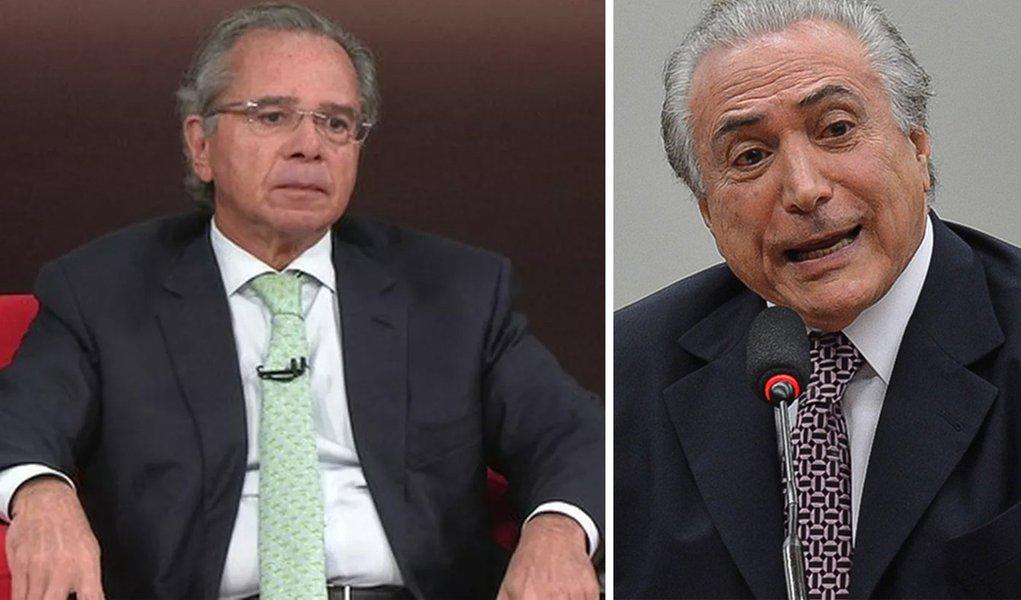 """Guru de Bolsonaro admite: """"Vamos fazer o que Temer está fazendo"""""""