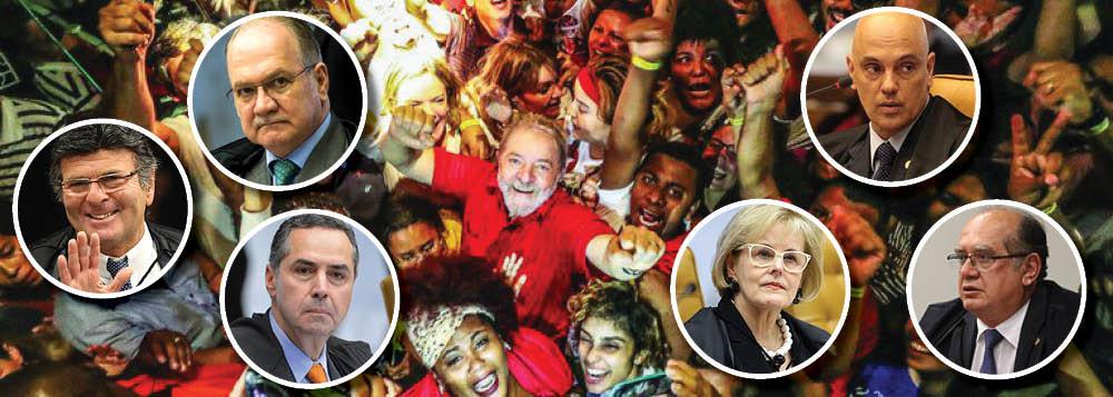 Maioria do Supremo já defendeu jurisprudência da candidatura Lula