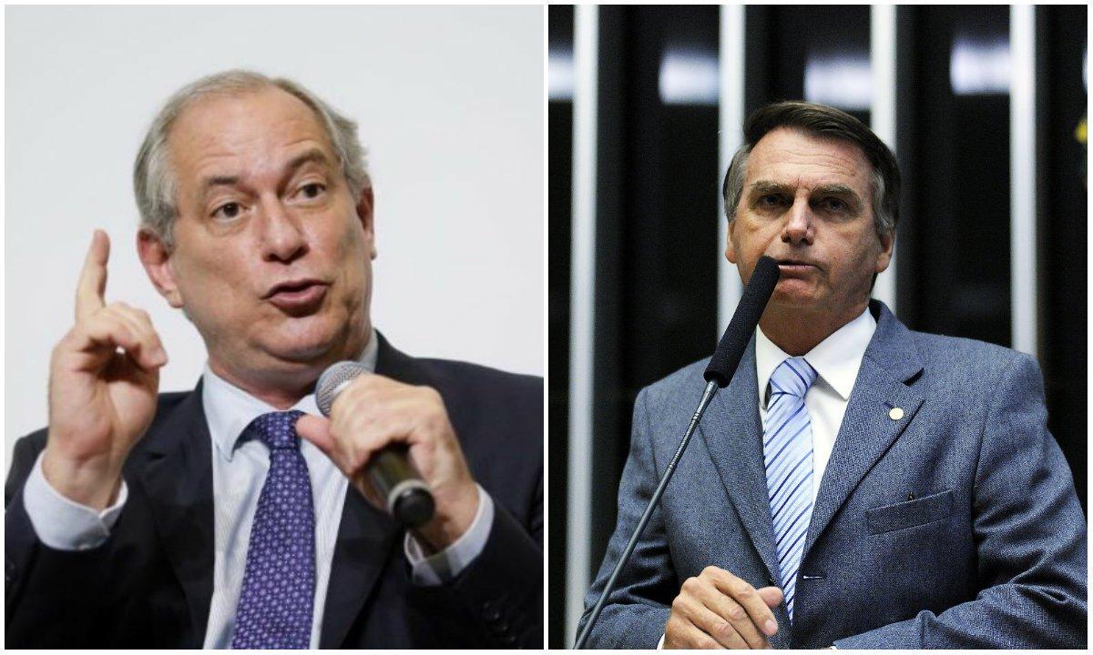 Ciro não quer bater em Bolsonaro para não 'parecer arrogante'