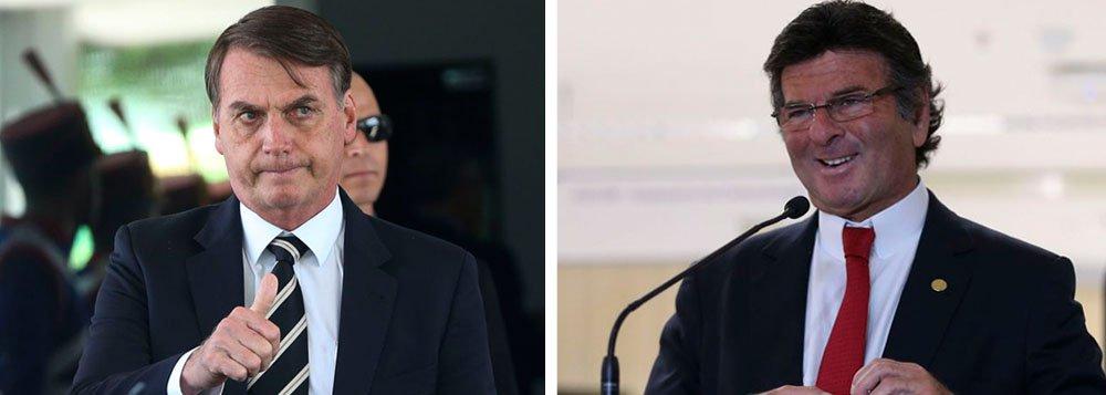 Múltipla escolha: quem se sai pior no episódio Fux-Bolsonaro