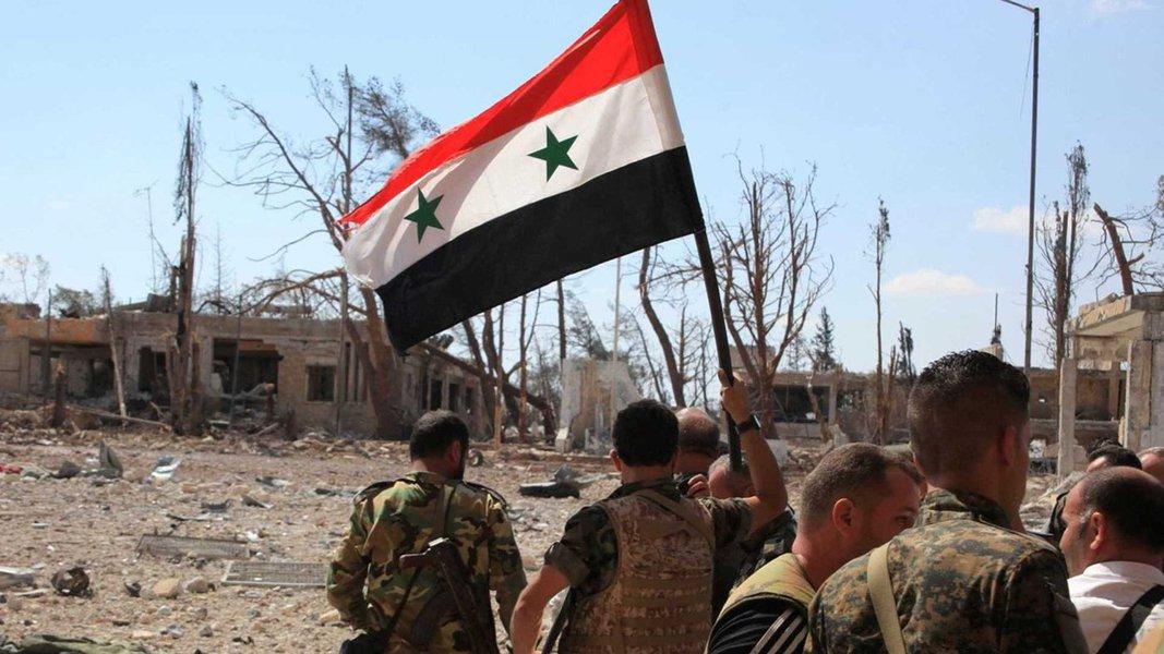 Síria fica em alerta contra ameaça de bombardeio dos EUA e aliados