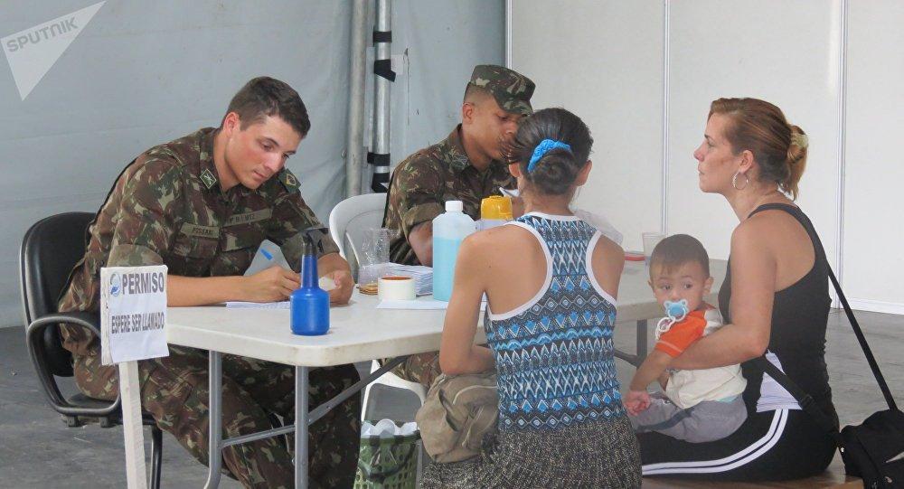 Afluxo de imigrantes venezuelanos não parará, diz Exército