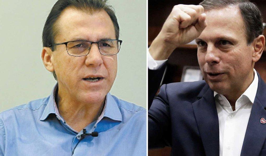 """Marinho faz Doria """"surtar"""" em debate da RedeTV"""