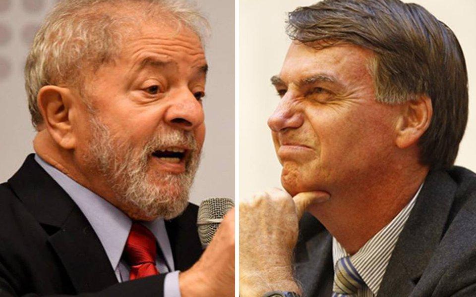 Lula tem 32% das intenções de voto e Bolsonaro, 20%, aponta XP/Ipespe