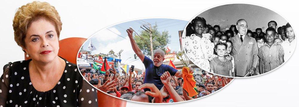 Dilma: 64 anos após morte de Getúlio, Brasil vive nova encruzilhada