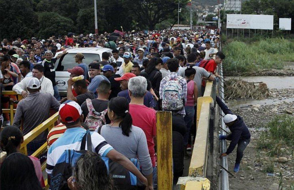 ONU: êxodo de venezuelanos se aproxima de momento de crise