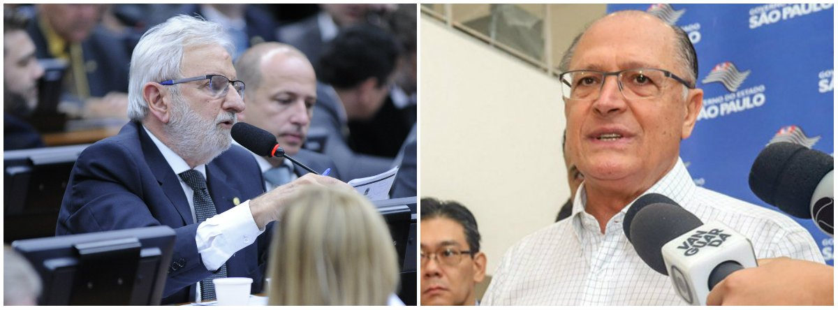 'Santo da Odebrecht quer milagre', diz Valente após Alckmin demitir marketeiro