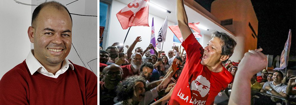 Aquiles Lins: Nordeste já abraçou Fernando Haddad
