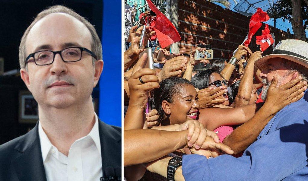 Lula já venceu a eleição, diz Reinaldo Azevedo