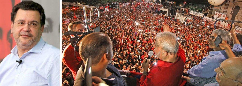 Rui Costa Pimenta: candidatura de Lula está se tornando avassaladora