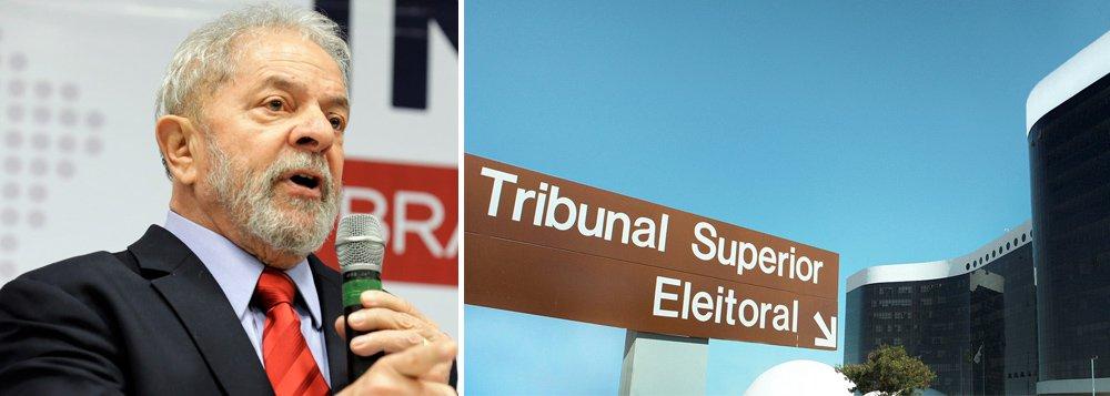 Direita faz 16 contestações no TSE contra candidatura de Lula
