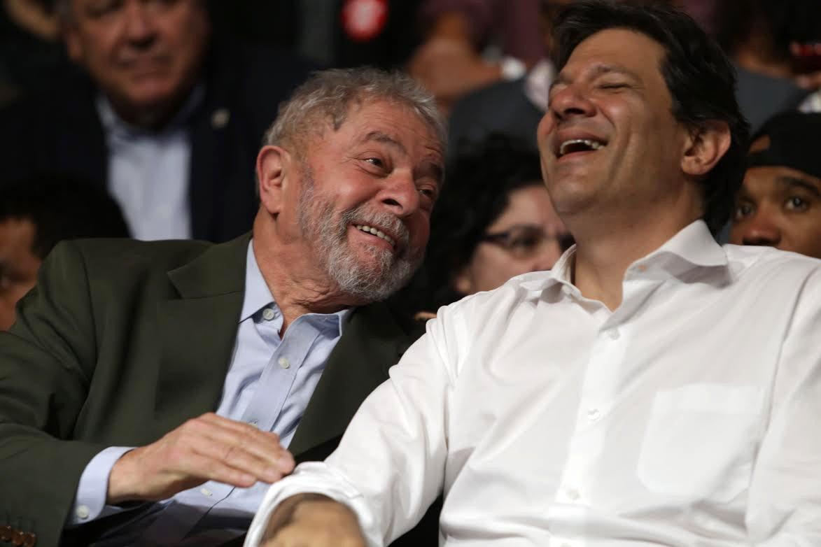 Ou dá Lula, ou dá Haddad