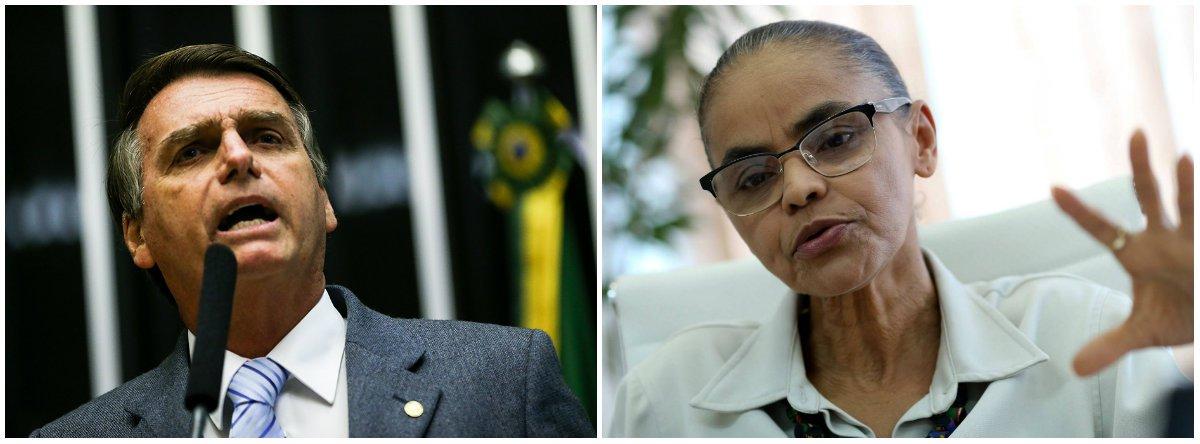 Bolsonaro tem medo de Marina