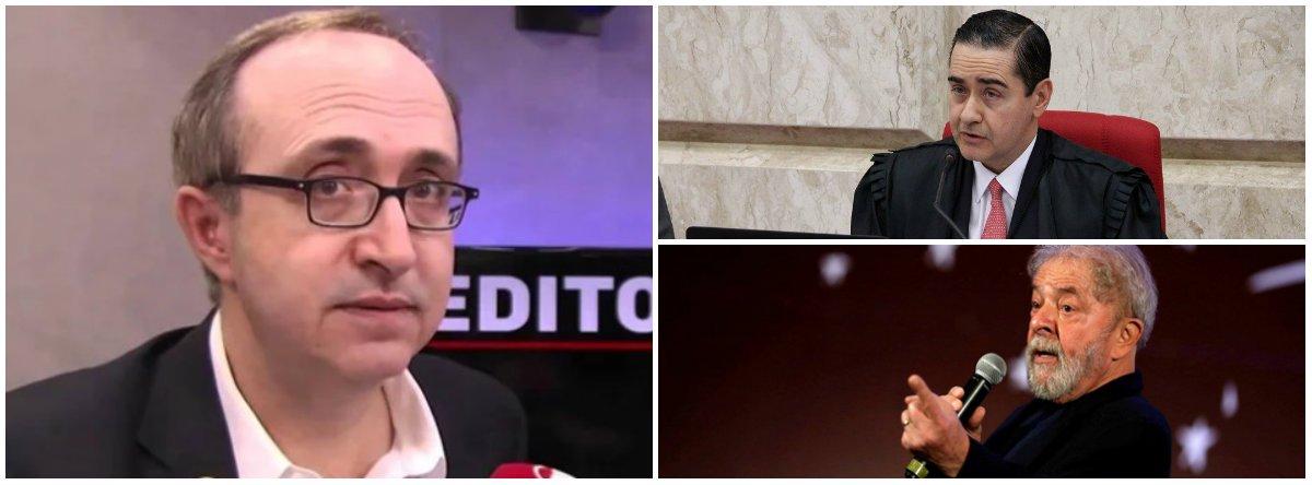 """Reinaldo Azevedo: """"Faz sentido desembargador que julgou Lula dar palestra no Clube Militar?"""""""
