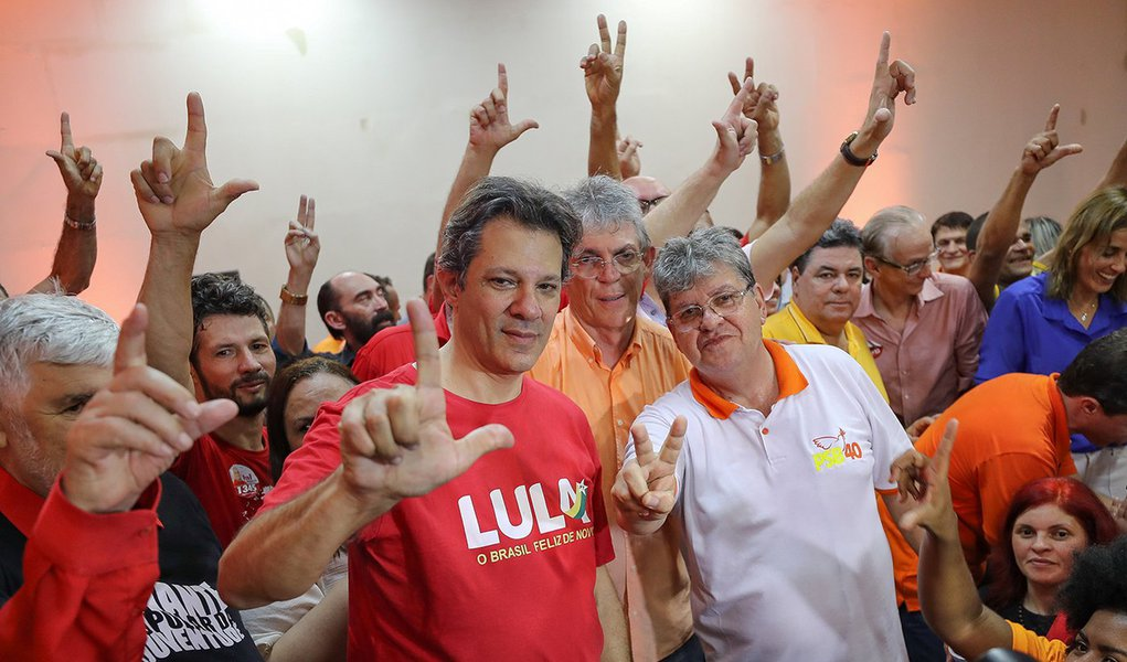 """Haddad em Campina Grande: """"O povo sabe que Lula foi o melhor presidente que o país já teve"""""""