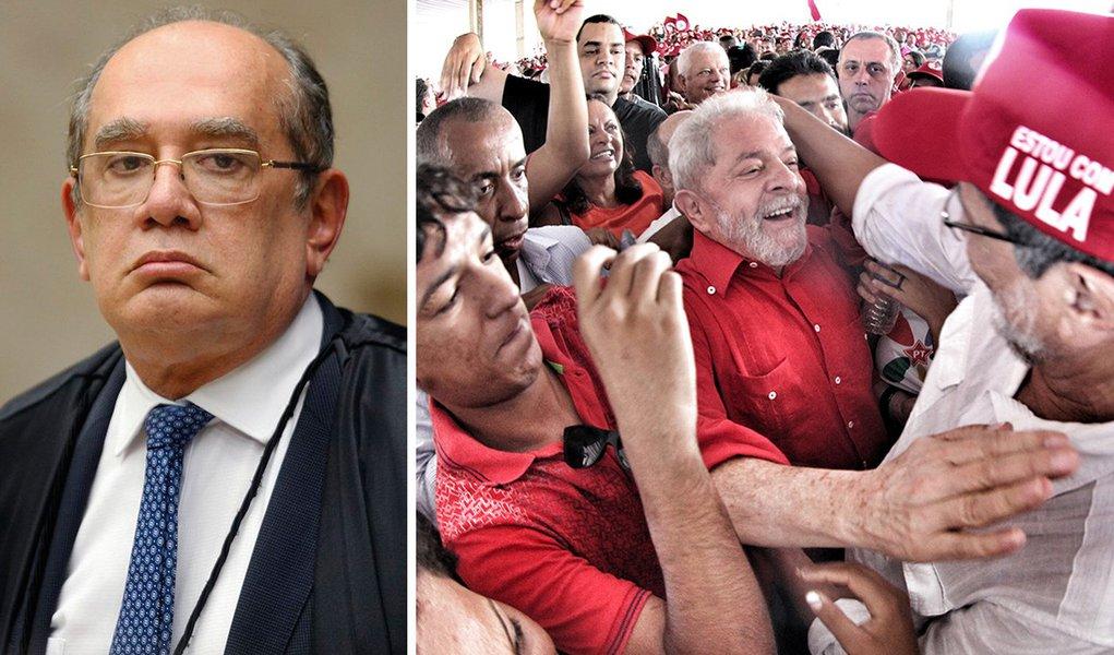 Gilmar espera que TSE julgue registro de Lula ainda em agosto