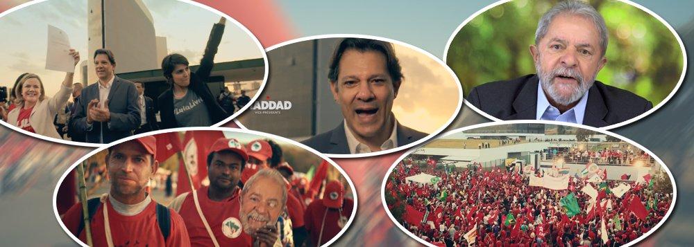 Num vídeo emocionante, começa a campanha Lula-Haddad. Assista