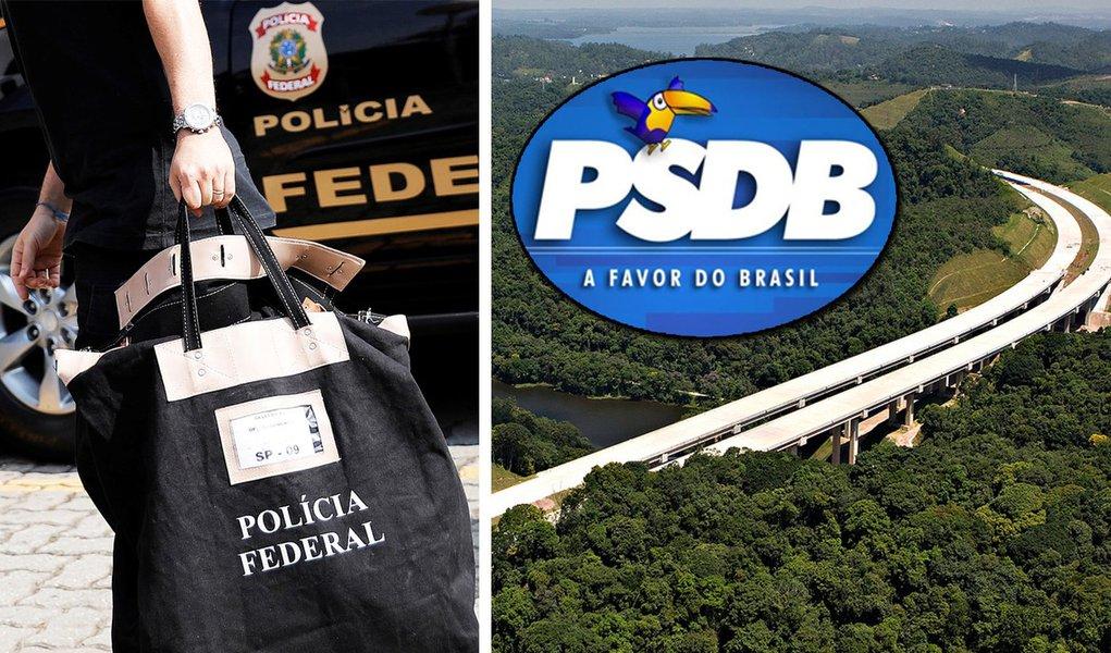 PF liga desvios do Rodoanel a campanhas do PSDB