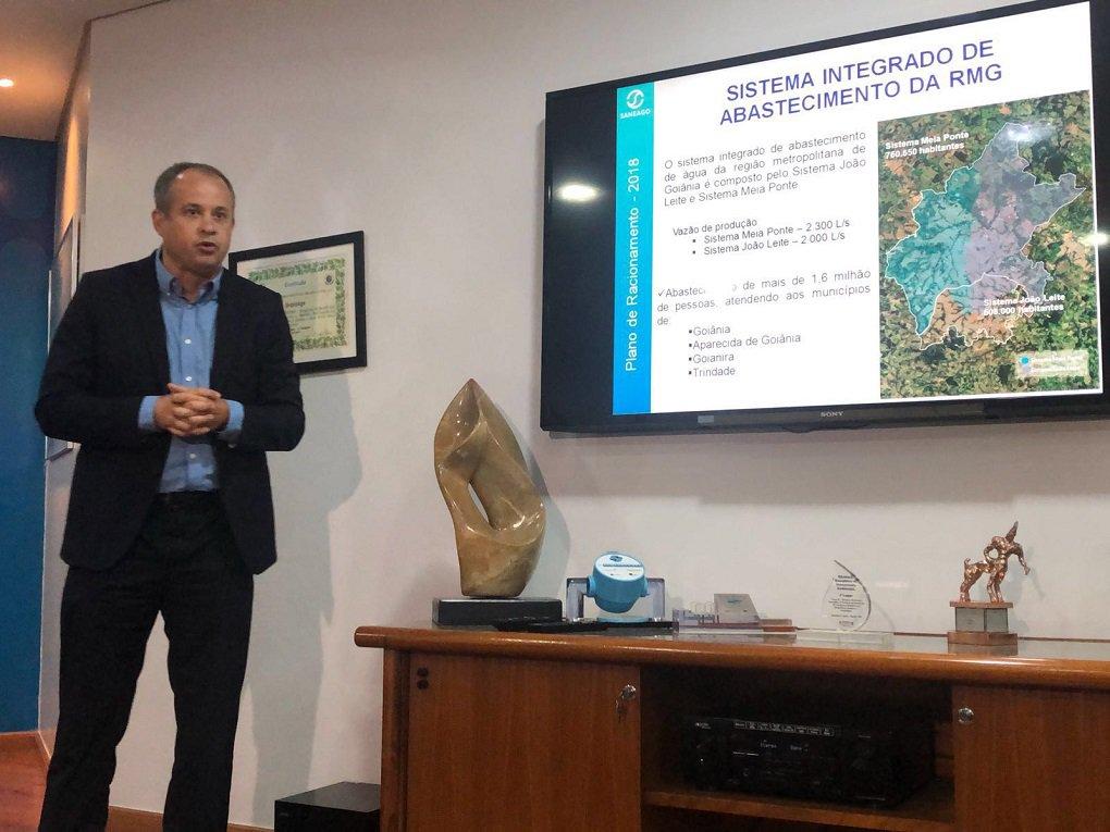 Saneago: risco de rodízio de água em bairros é mínimo