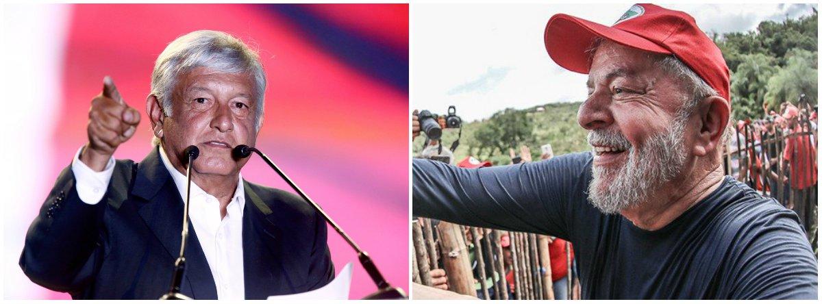 Eleição pode produzir geopolítica de sonho: Obrador no México, Lula no Brasil