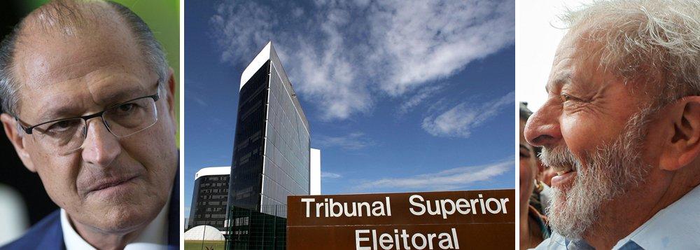 TSE abre prazo de defesa à candidatura Alckmin e não poderá negá-lo a Lula